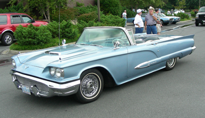 1958-1960 Thunderbird Sheet Metal