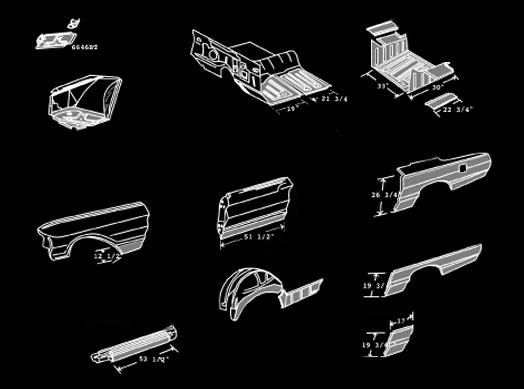 Classic Sheet Metal Inc Thunderbird 64 6
