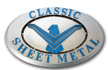Classic Sheet Metal Logo & sign
