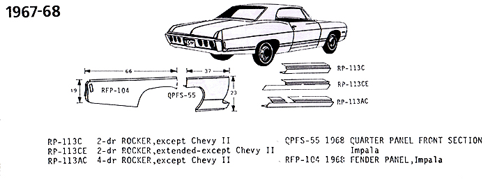 Chevrolet 1967-68