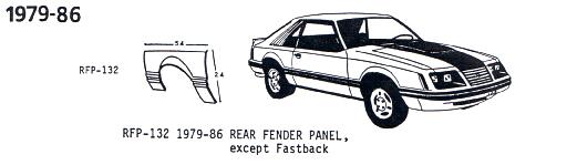 Mustang 1979-86