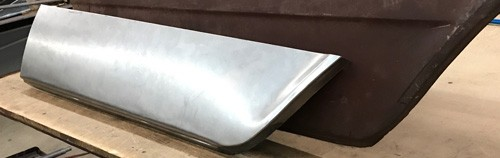 66 Galaxie Quarter bottom rear- Rt