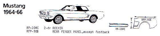 1964-66 Mustang